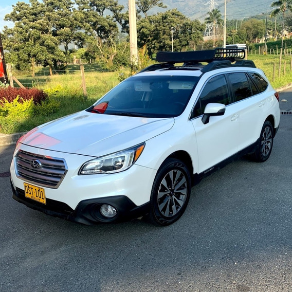 Outback 3.6r Limited Awd Blanca 5 Puertas