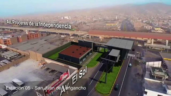 San Juan De Lurigancho Estacion San Carlo Nuevo Teleferico