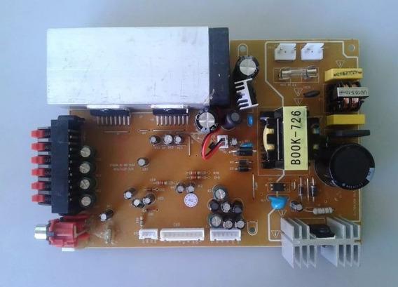 Placa Fonte E Amplificador Para Home Theater Lenox Ht-726-a