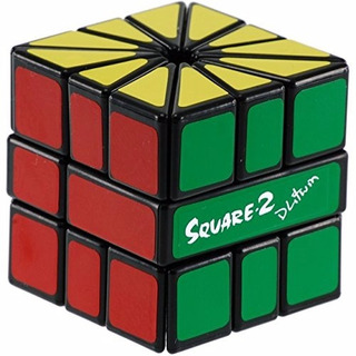 Cubo Rubik Calvin Square 2 Negro Sq-2 Belgrano Original
