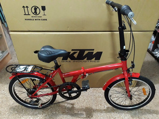 Bicicleta Plegable Straight R20 Shimano