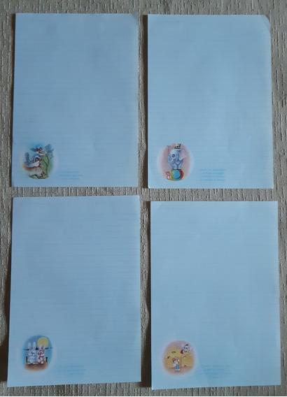 Papel De Carta - Mensagens - Antigo - Coleção - Lote 06