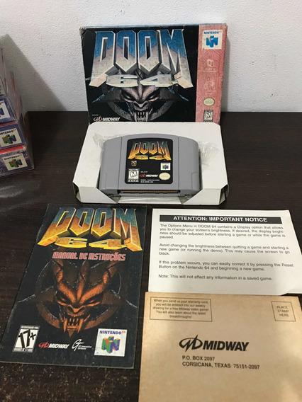 Doom Na Caixa Para Nintendo 64