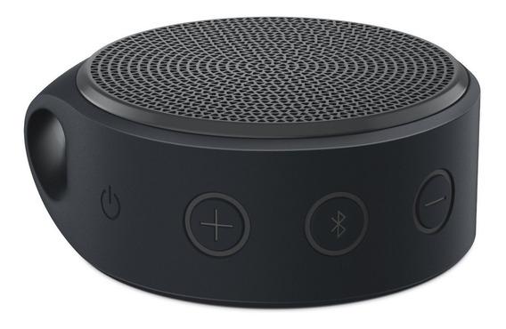 Caixa De Som Logitech Bluetooth X100 Cinza Viva Voz Lacrada