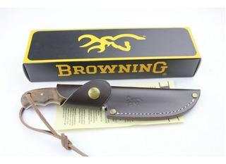 Cuchillo Browning Funda De Cuero. 21 Cms. Envio Gratis.