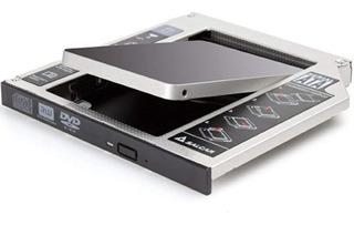 Caddy Segundo Disco Notebook Hdd Sata Ssd Universal 9.5 7 Mm