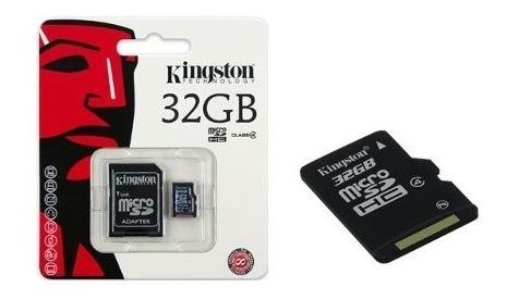 Cartao De Memoria Classe 4 Kingston Sdc4/32gb Micro Sdhc 32g