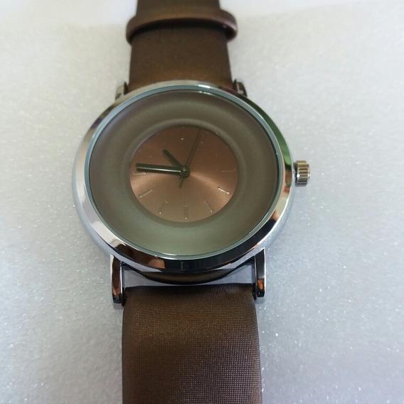 Relógio Sinobi Fino ,couro Legitimo