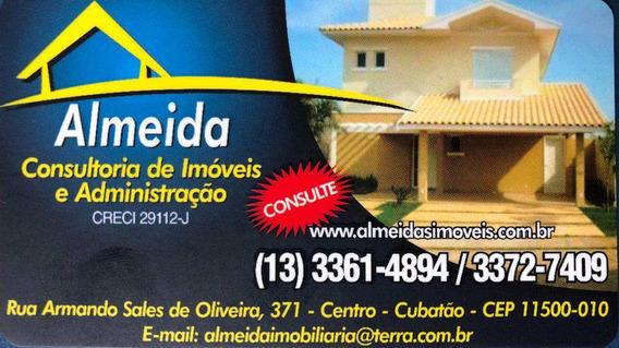 Casa Com 2 Dorms, Vila Ponte Nova, Cubatão - R$ 275 Mil, Cod: 757 - V757