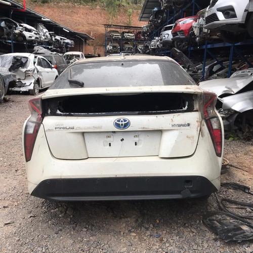Sucata Toyota Prius 2017/2018 Gasolina/eletrico 98cvs