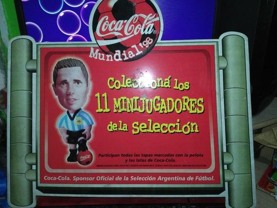 Publicidad Coca Cola Futbol Minijugadores 98 Centro De Canje
