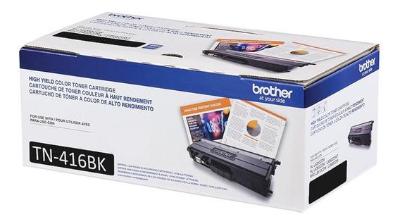 Toner Brother Original Tn-416bk L8360cdw L8610 L8900 Preto