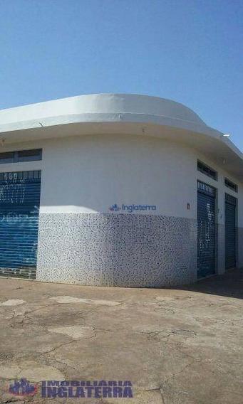 Sala Para Alugar, 120 M² Por R$ 1.350,00/mês - Antares - Londrina/pr - Sa0024