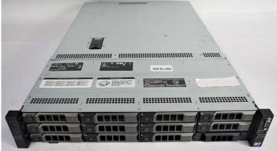 Servidor Dell Poweredge R510 / 2u 12 Gavetas 32gb Hexa