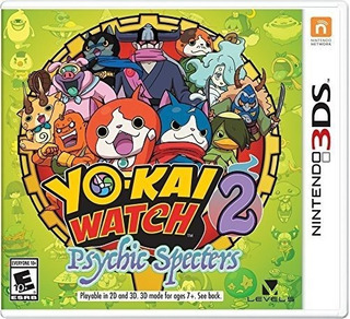 Yo-kai Watch 2: Espectros Psíquicos - Nintendo 3ds