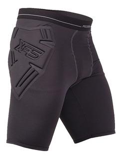 Calza Corta Con Protecciones Ironman Arquero Prostar