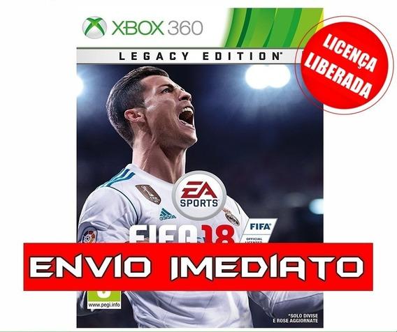 Fifa 18 / 2018 Pt Br Mídia Digital Xbox 360 C/ Licença