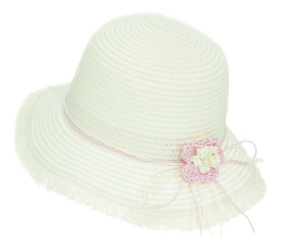 Sombrero De Playa Sol Para Niña Flexible Spn 223-002