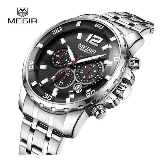 Relógio Masculino Megir 2068 Original Novo