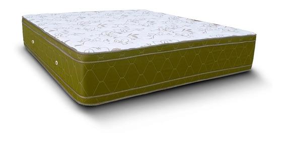 Colchón 2 Plazas Natural Soft Sense 190x140x32 Espuma Pillow