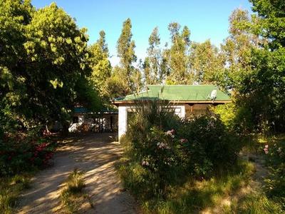 Parcela Con Casa Bosque Y Arboles Frutales Camino A Rapel