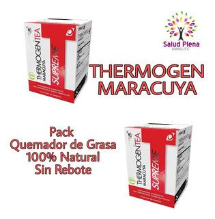 Thermogen Maracuya X 2 Quemador De Grasa Envió Gratis