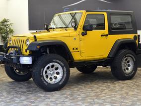 Jeep Wrangler X Base 6vel Aa Toldo Duro 4x4 Mt