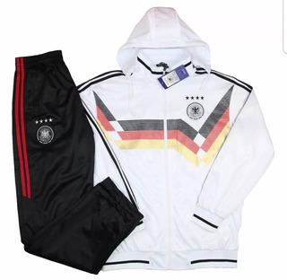 Conjunto Agasalho Seleção Alemanha Foto Real