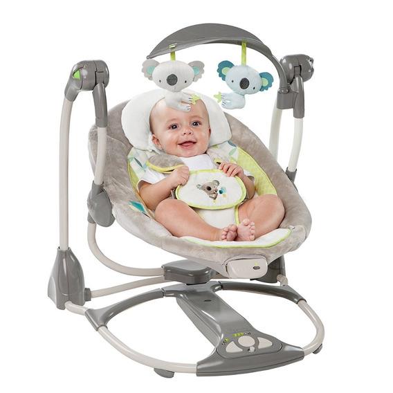 Silla Mecedora Ingenuity Bouncer 2 En 1 Para Bebe