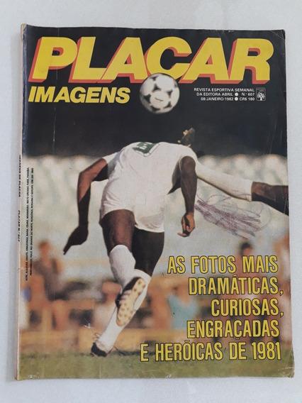 Revista Placar Especial N 607 Imagens 1982 Futebol