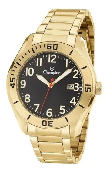 Relógio Champion Masculino Dourado Ca31284u