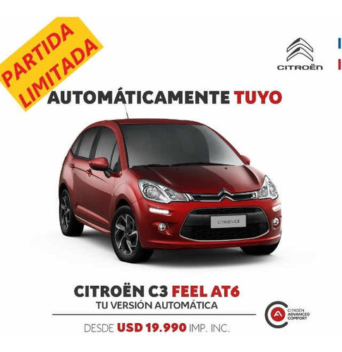 Citroën C3 2021 1.6 Feel Vti 115 Hp Aut 6