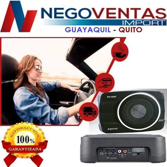 Bajo Amplificado Subwoofer De Carro 360w 10 Pulgadas