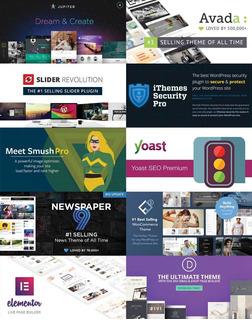 116 Temas Wordpress Premium Mas 329 Pluggins