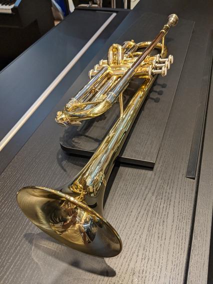 Trompeta Selmer Tr 650 Dir Bach Dorada En Bb