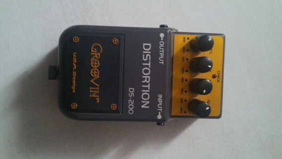 Pedal Groovin Distortion Para Guitarra