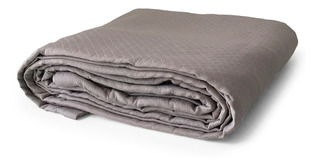 Colcha Gris Queen Size Hotel Collection