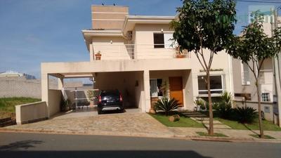 Casa Residencial À Venda, Condomínio Villagio Di Napolii, Valinhos. - Ca0341