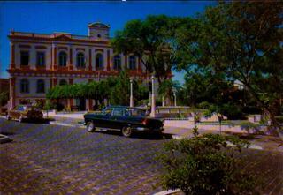 Tqu-47743- Postal Taquara, R S- Palacio Municipal