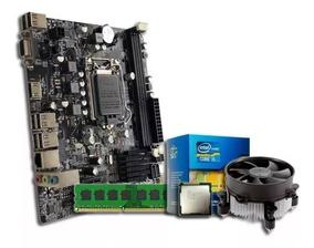 Kit Processador Pentium G2030 3.0 + Placa Mãe + Memória 4gb