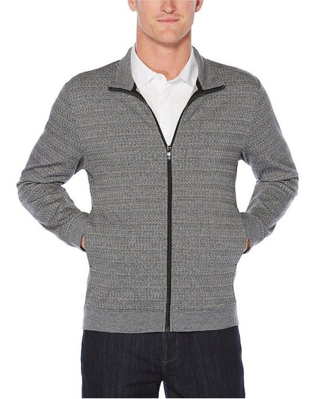 Exclusiva Chamarra Ligera Perry Ellis 2xl Xxl Grey