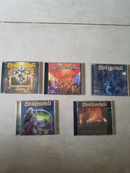 Blind Guardian - Lote Com 6 Cds Originais Frete 15,00