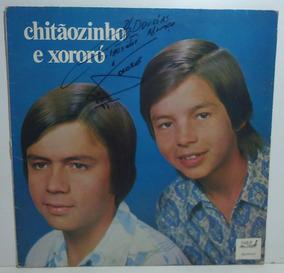 Chitãozinho E Xororó 1972 St Lp Galopeira Autografado