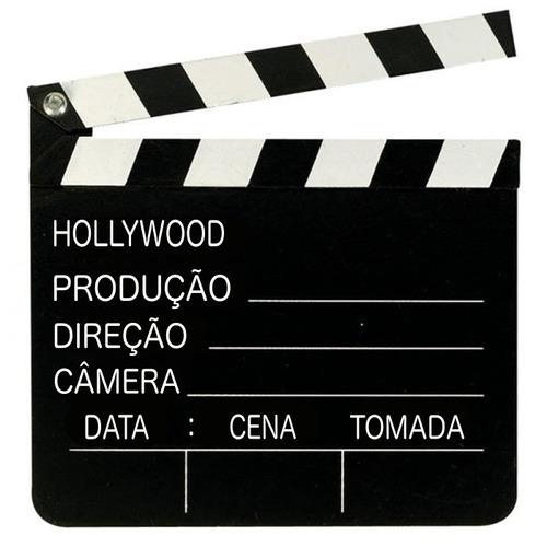 Claquete Português Para Estúdio De Cinema Tv Decoração 30x28