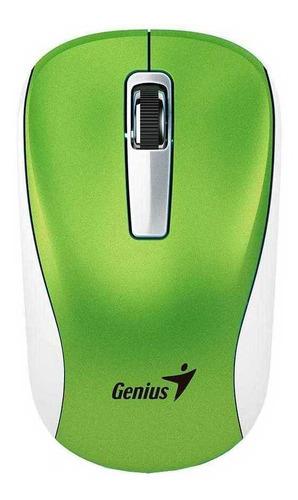 Imagen 1 de 2 de Mouse Inalámbrico Genius Nx-7010 Verde