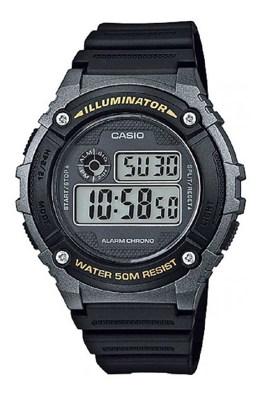 Relógio Casio Masculino Standard W-216h-1bvdf