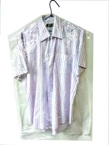 Sacos Plásticos Capas Lavanderia Camisa Liso C/200 Un