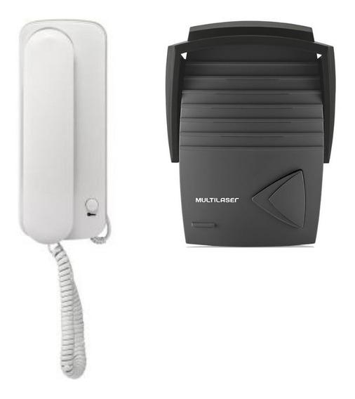Porteiro Eletrônico Com Monofone Multilaser Abs Se401