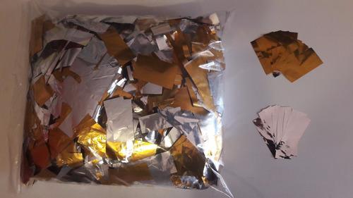 #papel #ventury #picado #metalizado Dorado