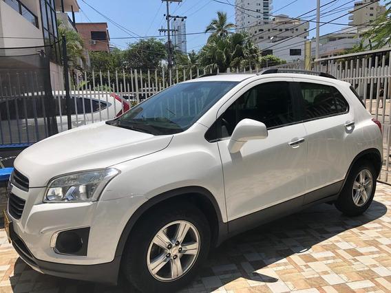 Camioneta Chevrolet Tracker 2017 Blanca Como Nueva! Gangazo!